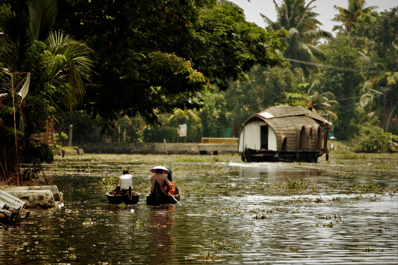 living in the backwaters 1