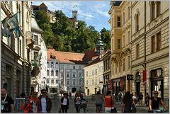 Ljubljana, Stadtmitte...