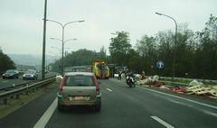 LKW Crash