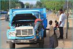 LKW Reparatur ... in SAMBIA + 8Fotos