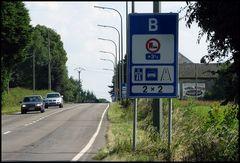 LKW Überholverbote in Belgien