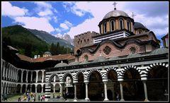 ll monastero di Rila in tutta la sua magnificenza...