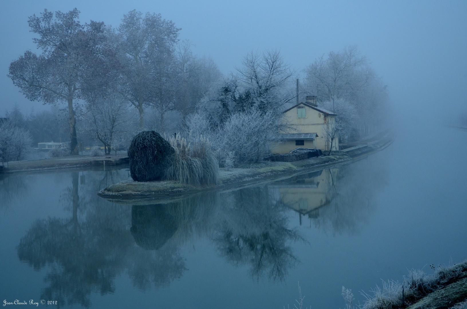 L'île du canal