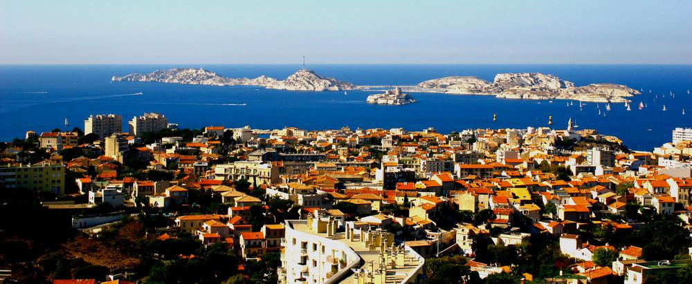l'île Frioul et l'île d'If, Marseille