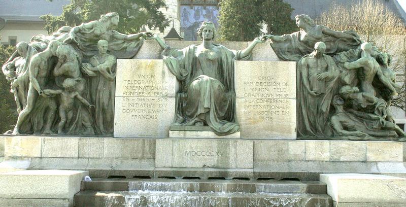 Llemadeo , Vnion Telgraphiove, Internationale Fonde a Paris, en 1865...