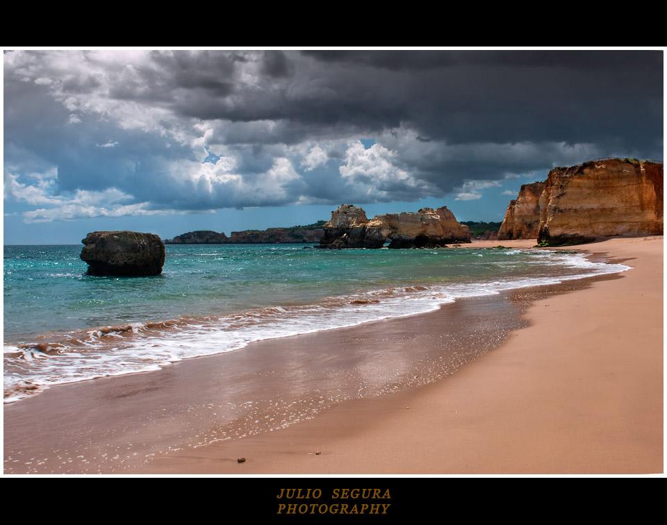 Llueve en el Algarve (Portugal)
