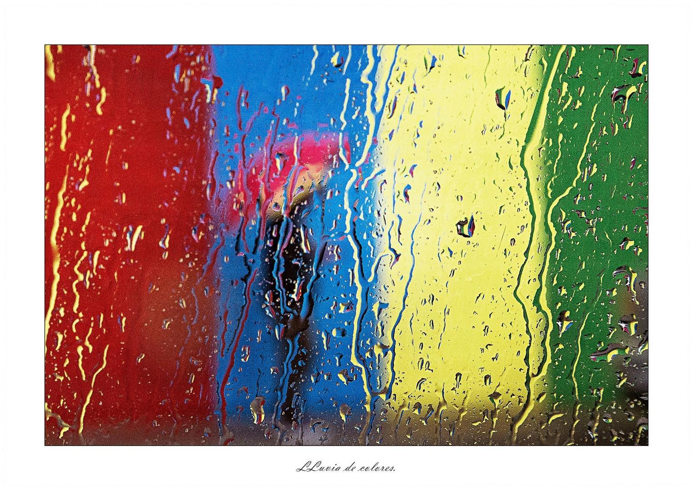Lluvia de colores.