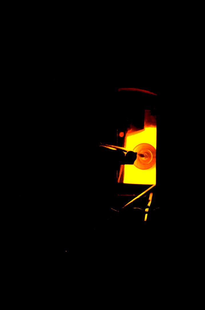 L'âme du verre est le feu