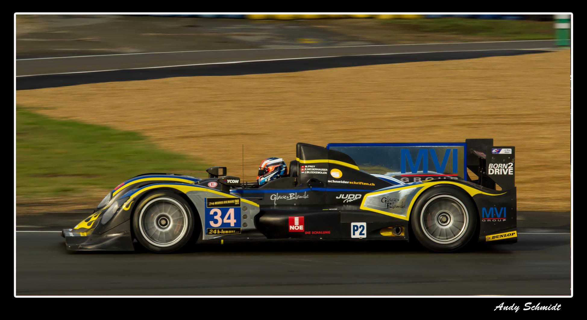 LMP 2 in Le Mans 2013
