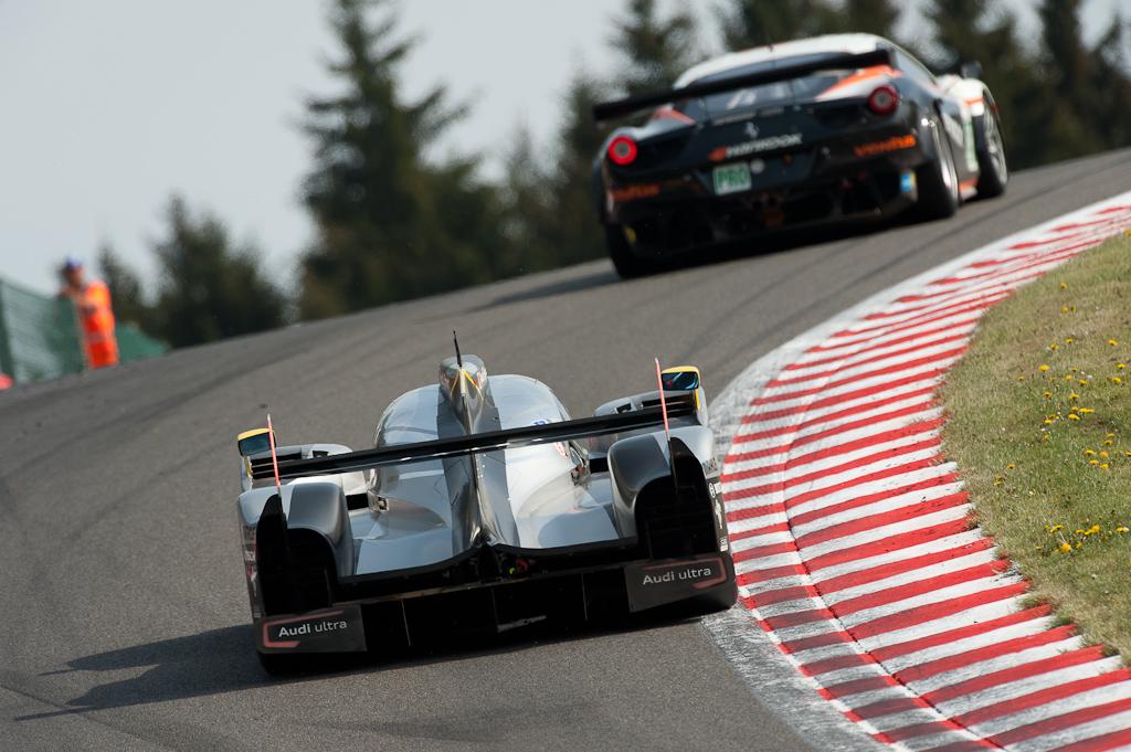 LMS 2011 - 1000km of Spa / Audi Sport North America - Audi R18