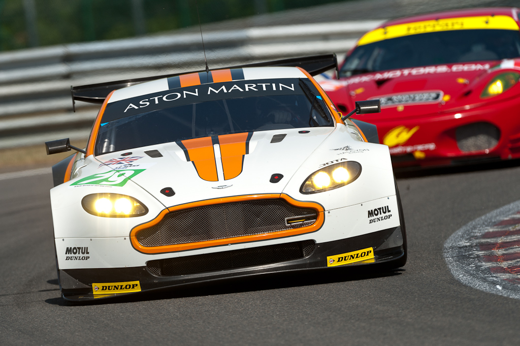 LMS 2011 - 1000km of Spa / JOTA - Aston Martin Vantage