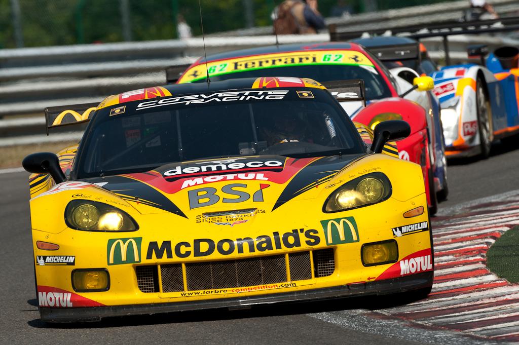 LMS 2011 - 1000km of Spa / Larbre Competition - Corvette C6-ZR1