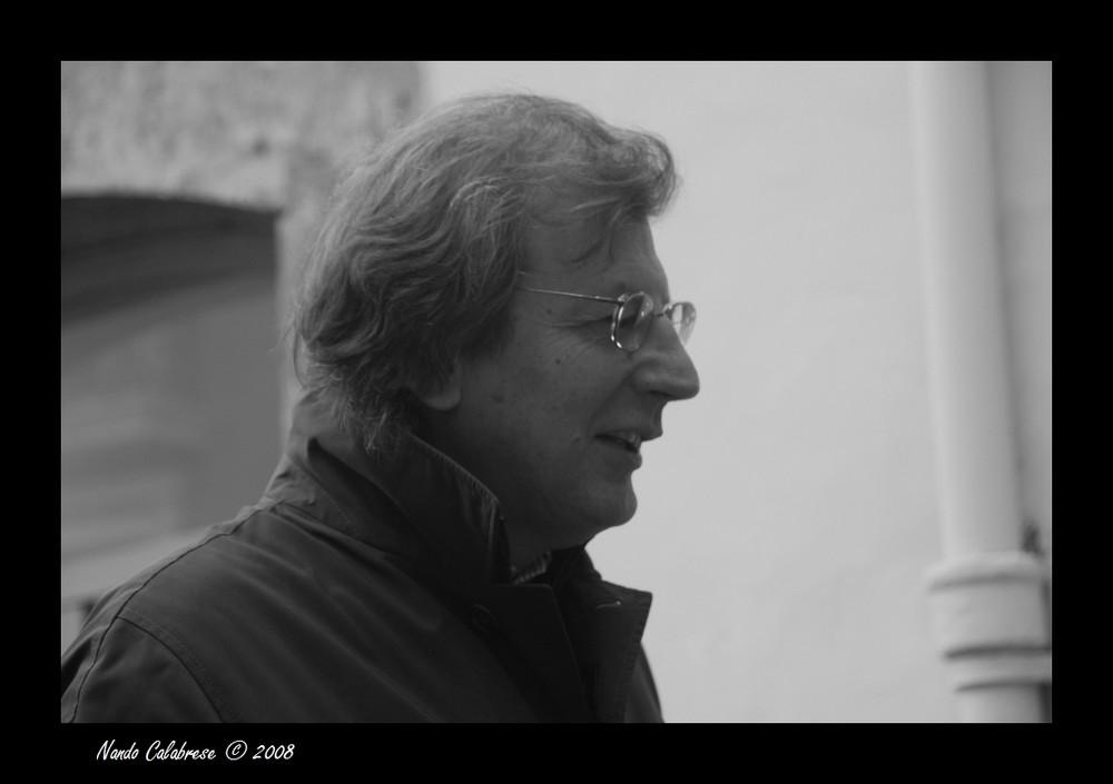Lo scrittore Francesco Durante