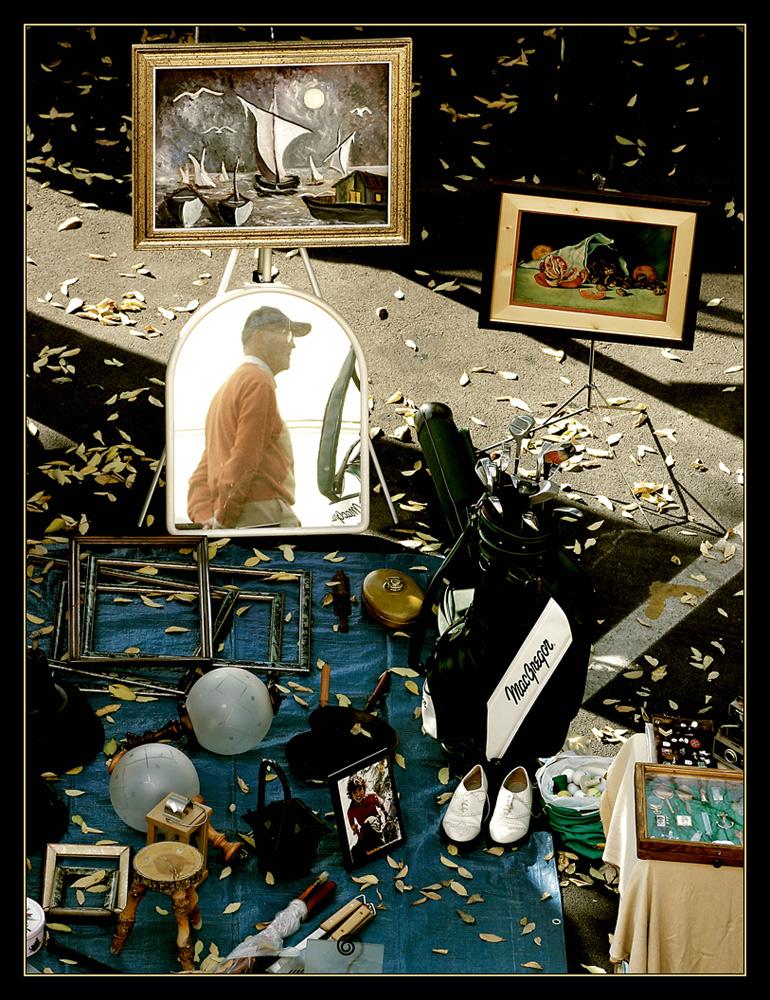 Lo specchio del presente, gli oggetti del passato.