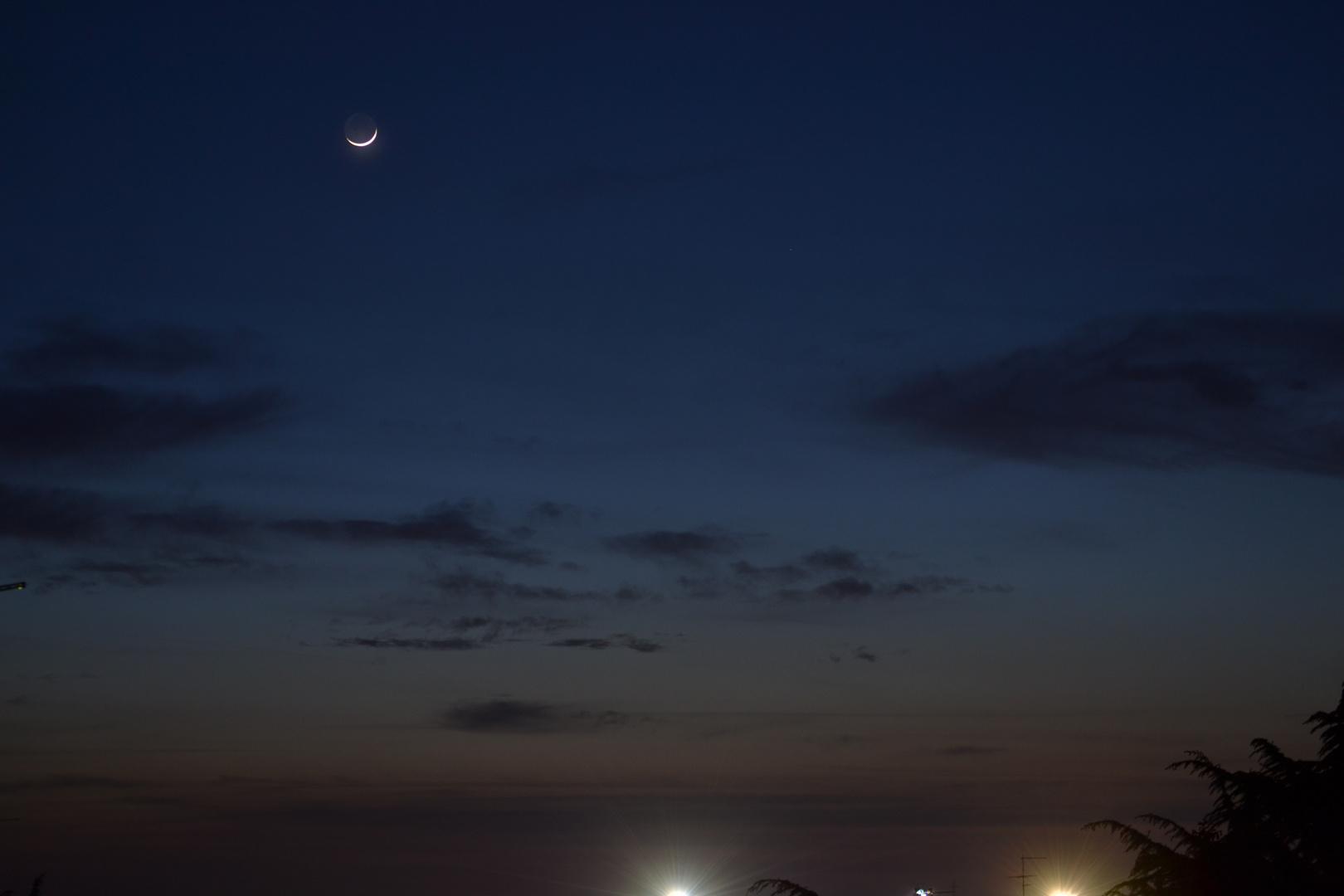 Lo Spicchio Di Luna Foto Immagini Paesaggi Natura Foto