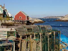 Lobsterfallen in Peggys Cove