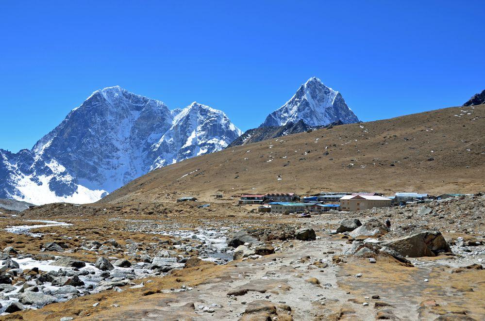 Lobuche im Khumbu auf 4930 m Höhe