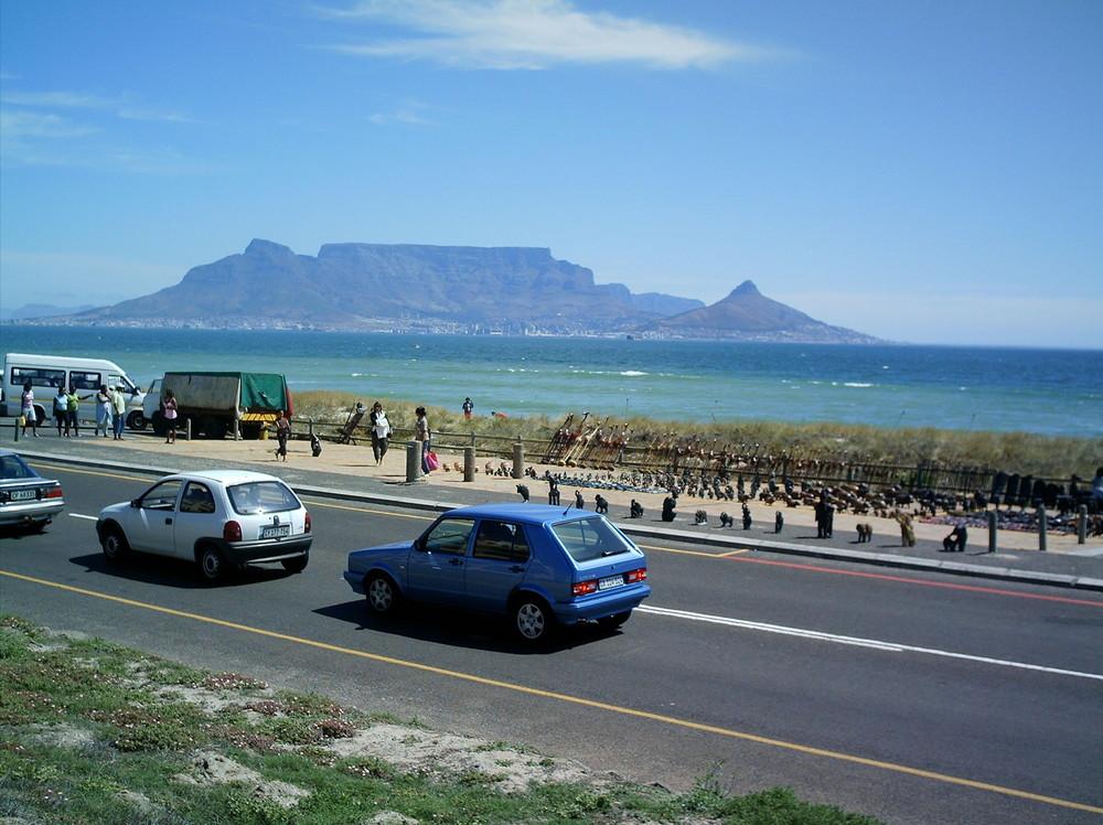 Local handycraft street Exhibition in Cape Town
