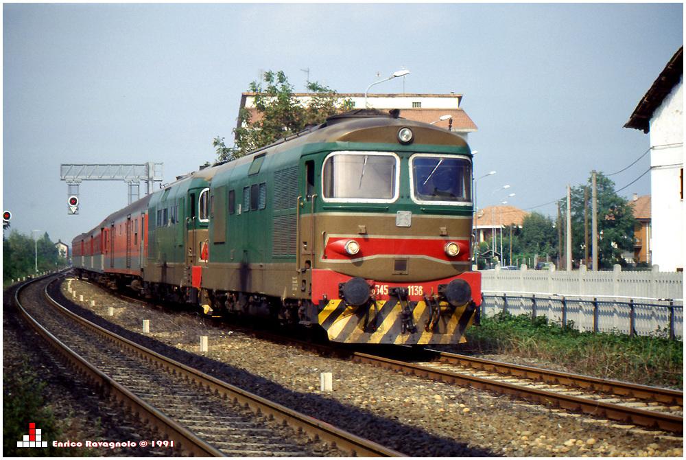 Locale 10090 Aosta - Torino in Bf. Montanaro