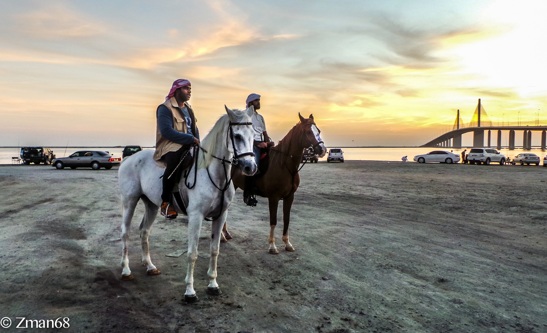 Locals on Horse Backs