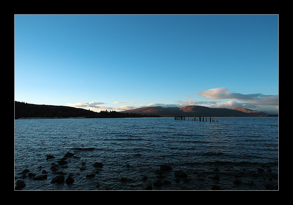 Loch Lomond von Balloch gesehen