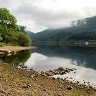 Loch Lubnaig as the sun rises