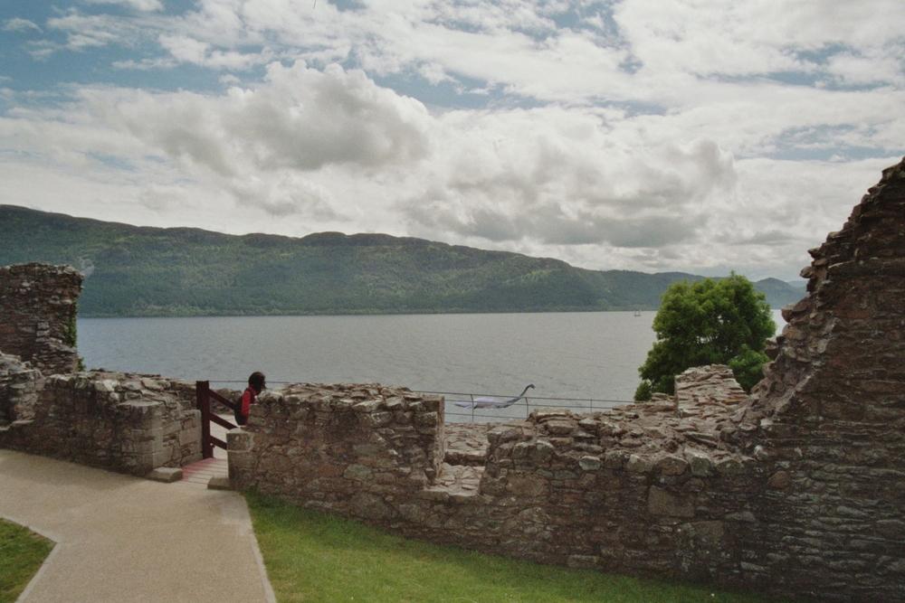 Loch Ness mit Nessie