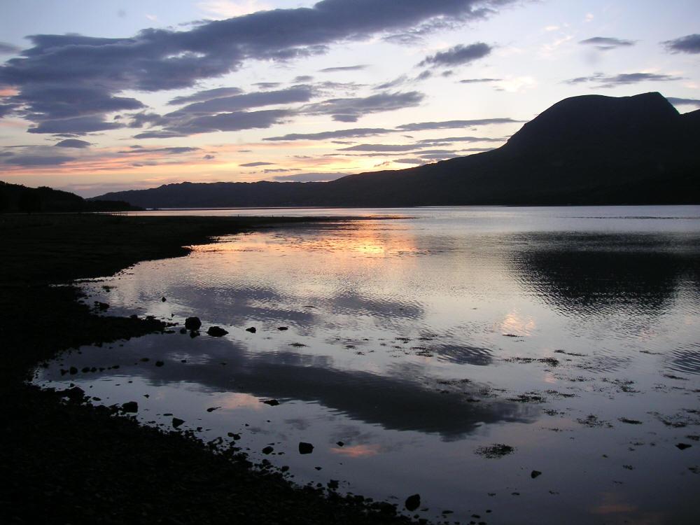 Loch Torridon und Beinn Eighe