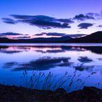 Loch Venachar in blue