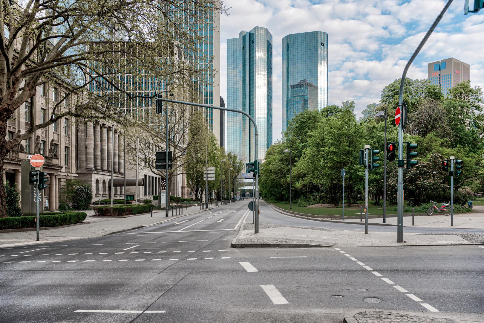Lockdown Frankfurt