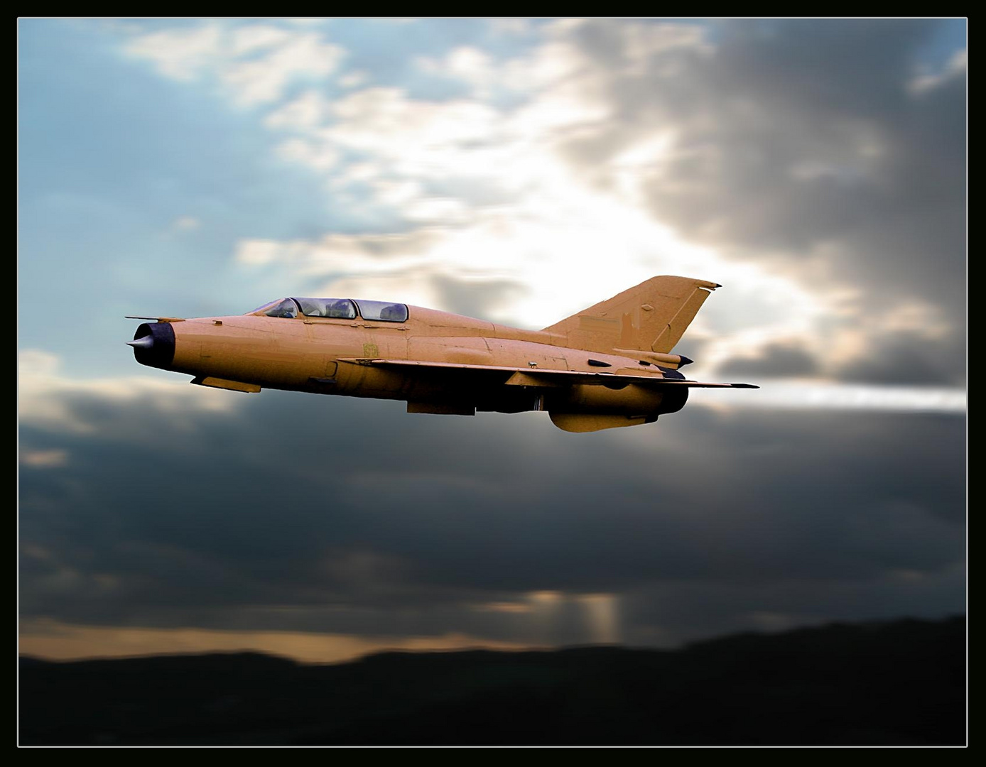Lockhead F 104 G Starfighter