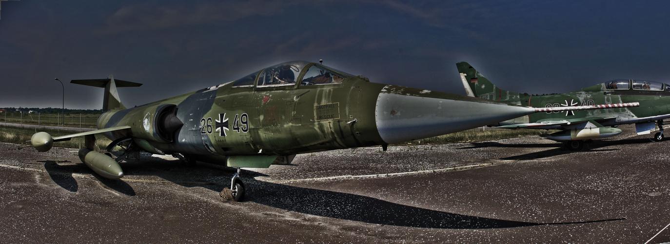 Lockheed Starfighter F-104,