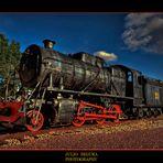 Locomotora en HDR