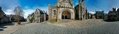 Locronan in der Bretagne - Finistere