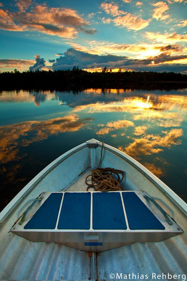 Lövsjön Sweden - Sunset