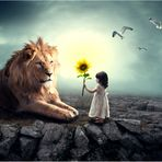 Löwenbändigerin.....