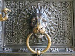 Löwenkopf mit Ringhalter Kölner Dom