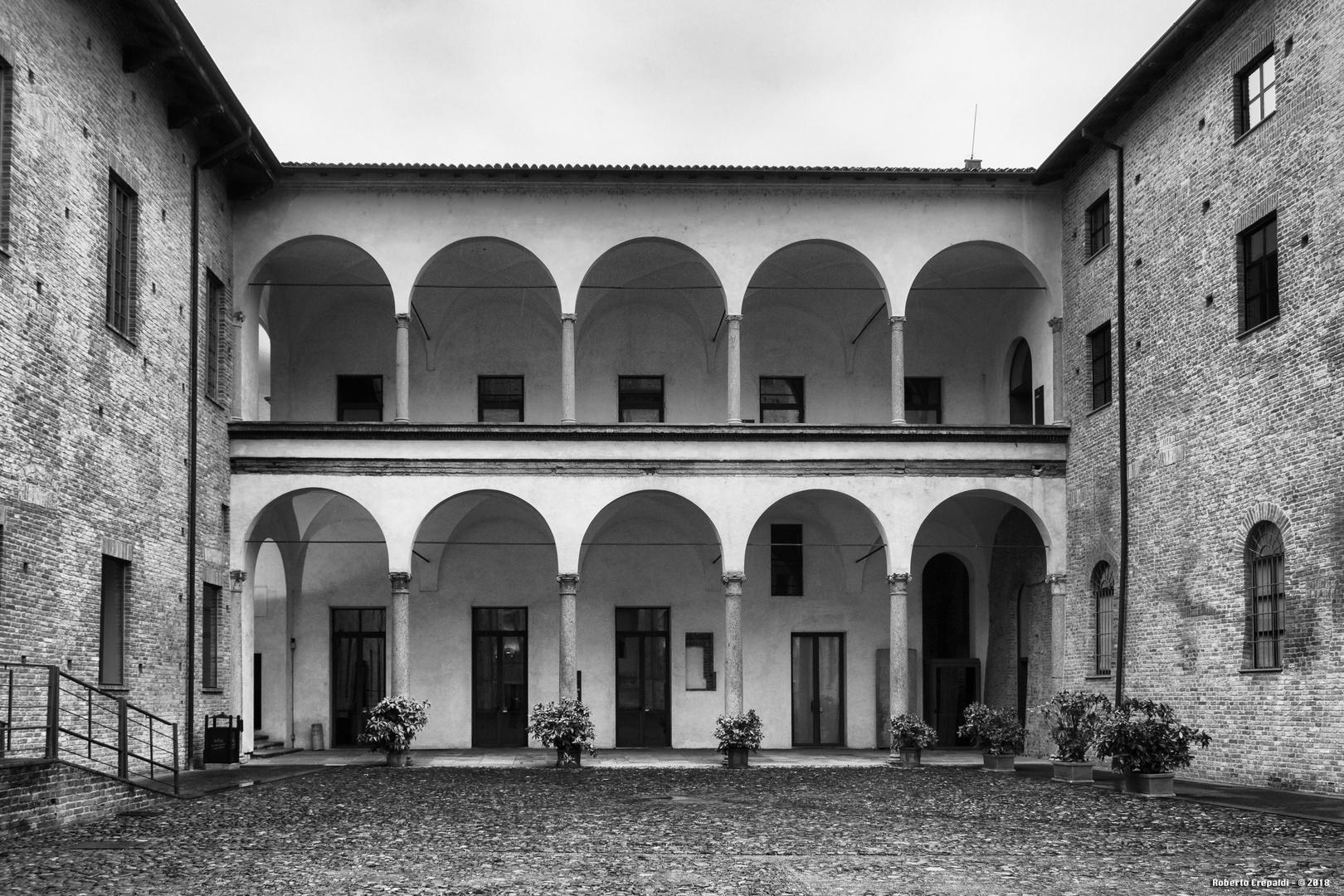 Loggiato del Palazzo Farnese, Piacenza