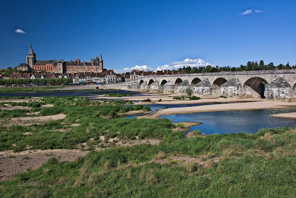 Loirebrücke bei Gien (Version 2)