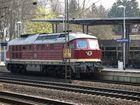 Lok 132 004 steht in Rotenburg / Wümme