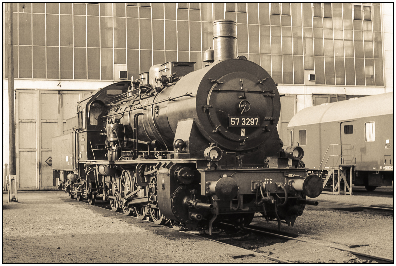 Lok 57 3297 (Juli 1985) #1