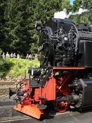 Lok 997234-0 der Harzer Schmalspurbahnen im Detail