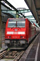 Lok der Baureihe 146 im Stuttgarter Hbf