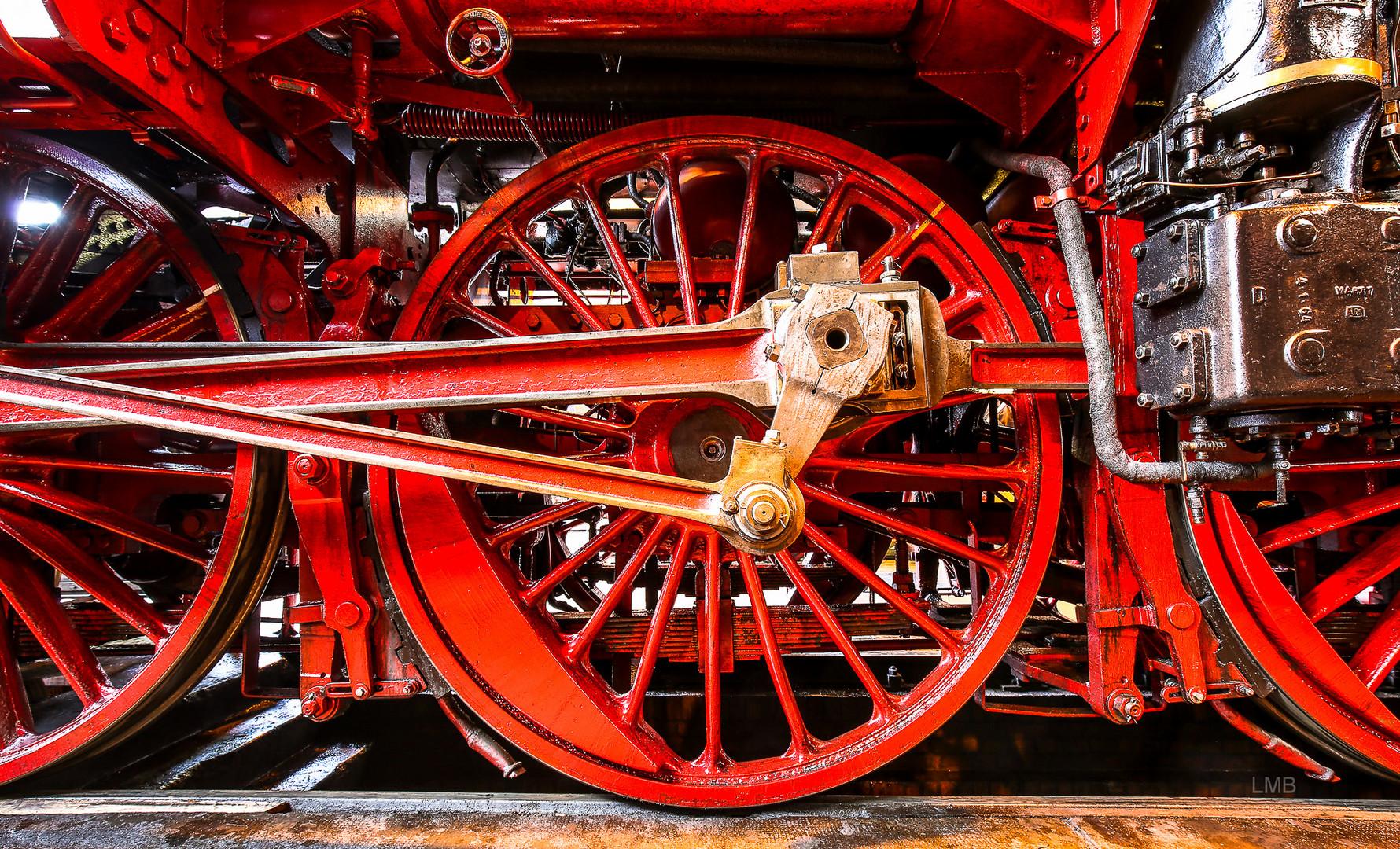 Lokomotiv-Durchblick