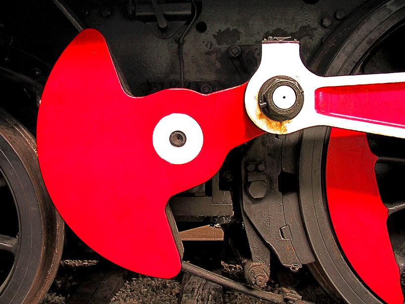 Lokomotiv-Gestänge