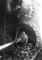 Lokomotivschaden bei Fürstenwalde 1931