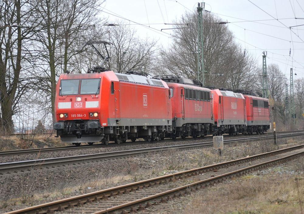 Lokzug aus 3 Generationen Güterzugloks