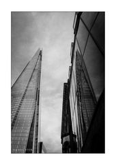 London 010 - The SHARD in the Mirror