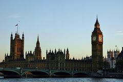 London - Big Ben / House of Parlament