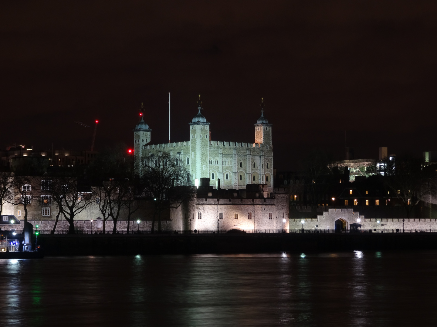 London by night - The White Tower